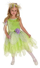 Tinkerbelle costume for girls. This beautiful fairy costume is magical! #princessdress #rosiesboutique #rosiesteaparty #fairycostume #dancewear #girlscostumes