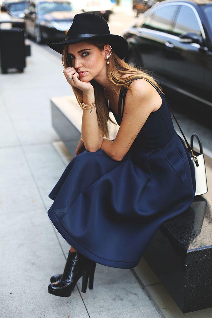 Chiara Ferragni by Andrew Arthur at New York Fashion Week September 2013