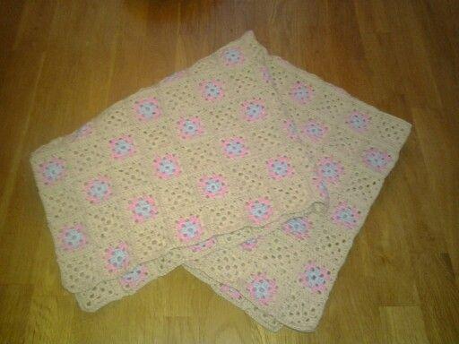 Babyblanket. Crochet DIY