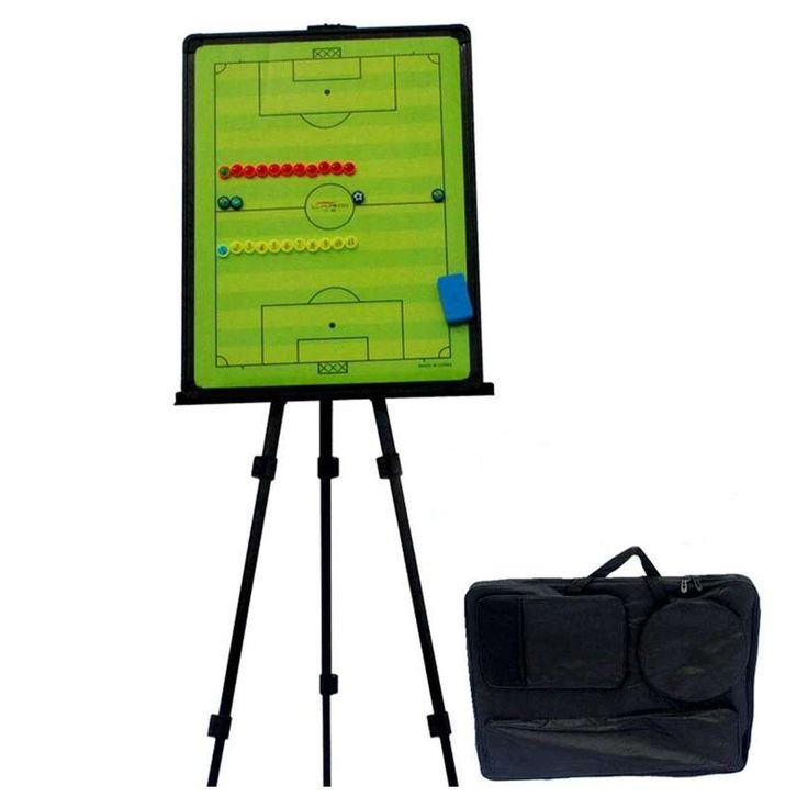 158.40$  Watch now - http://aliwl2.worldwells.pw/go.php?t=32722564246 - MAICCA Soccer Coach Board with holder carry bag Magnetic Tactical plate tripod super big book set Football Coaching