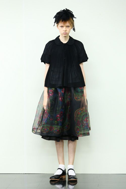 tricot COMME des GARÇONS 2014SSコレクション Gallery5