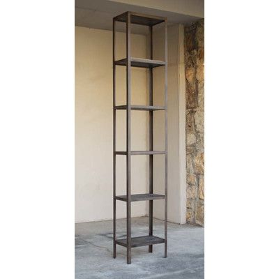"Zentique Inc. Figy Display 102"" Etagere Bookcase Size: 102"" H x"