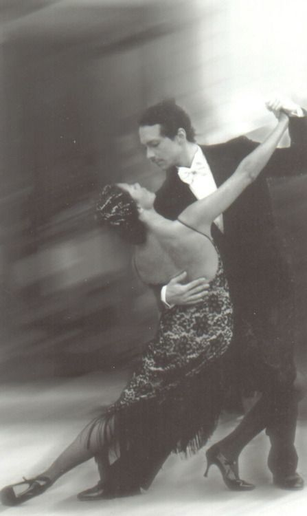 Most Graceful Tango. Black and white Photography
