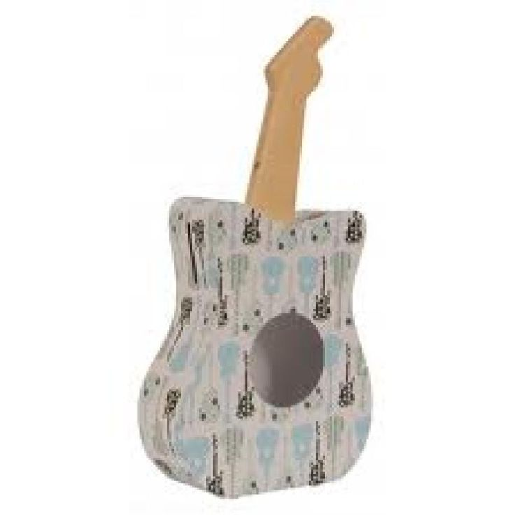 Paper Moon Guitar Money Box - Tiger Tribe for sale by Little Shop of Treasures. Other Tiger Tribe available now at LSOT.