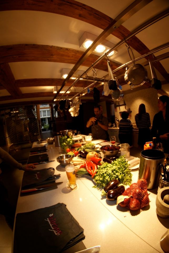 The preparation kitchen