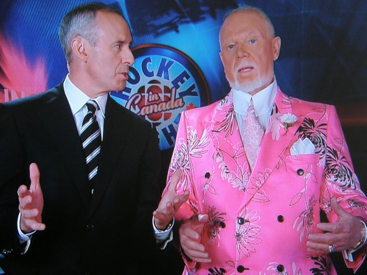 Ron Maclean and Don Cherry - Coach's Corner.