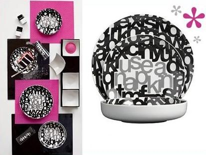 Funky Dinnerware- Check out this clever Subliminal Dinnerware with some equally cool coordinating pieces  sc 1 st  Pinterest & 70 best Dinnerware/Tea Sets images by Isha Arora Verma on Pinterest ...