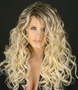 S Wave Perm...love the curls  brunette though would be perfect... :)
