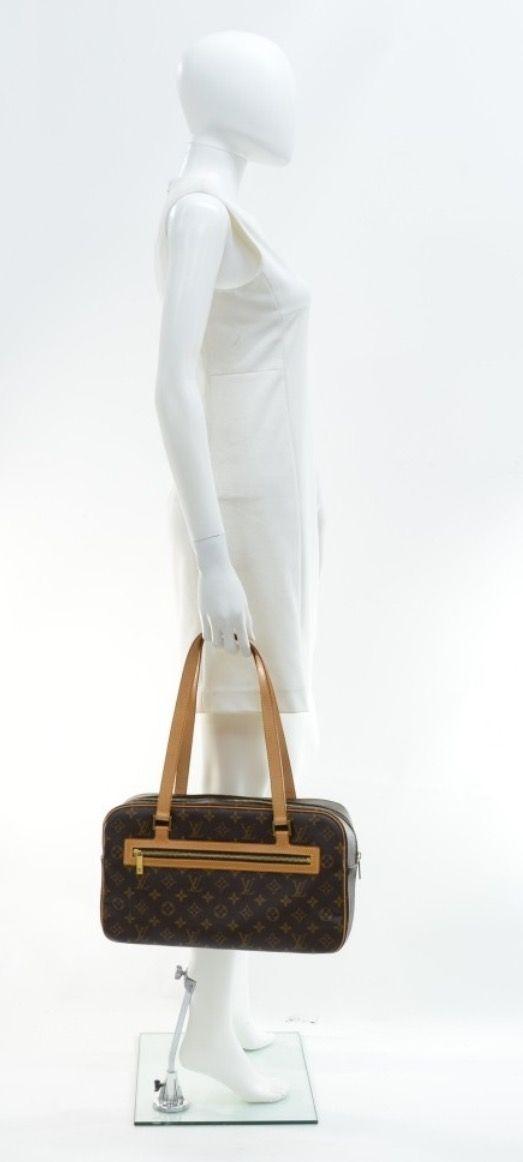Louis Vuitton monogram Cite GM.  Purchased April 2017 from Posh Bag Boutique.