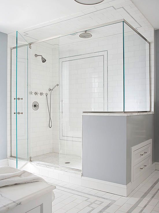 Walk In Shower Ideas Extra Storage Toilet Paper And Wall Mount