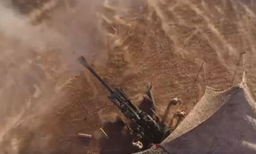 US Marines rain fire down on ISIS in Syria [Video]