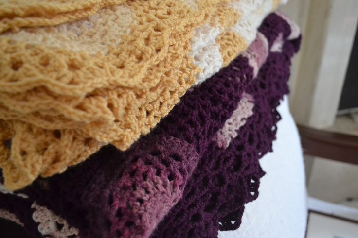 Crochet Blankets  ~Made by Ioanna