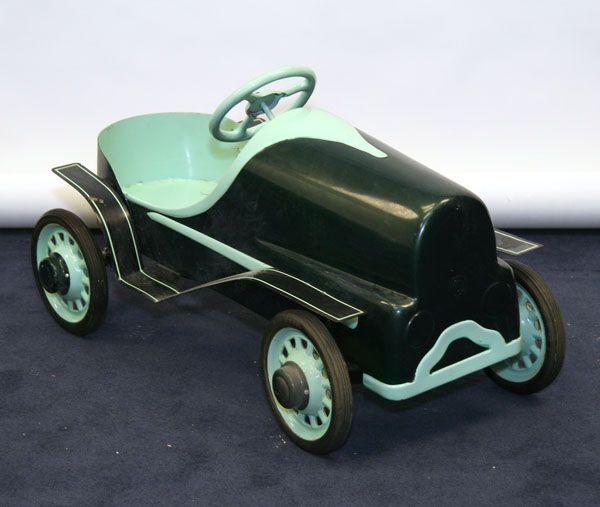 Antique+Pedal+Cars | ANTIQUE PEDAL CAR, PRETTY PINK PRINCESS PEDAL CAR, 1932' FLAMED.