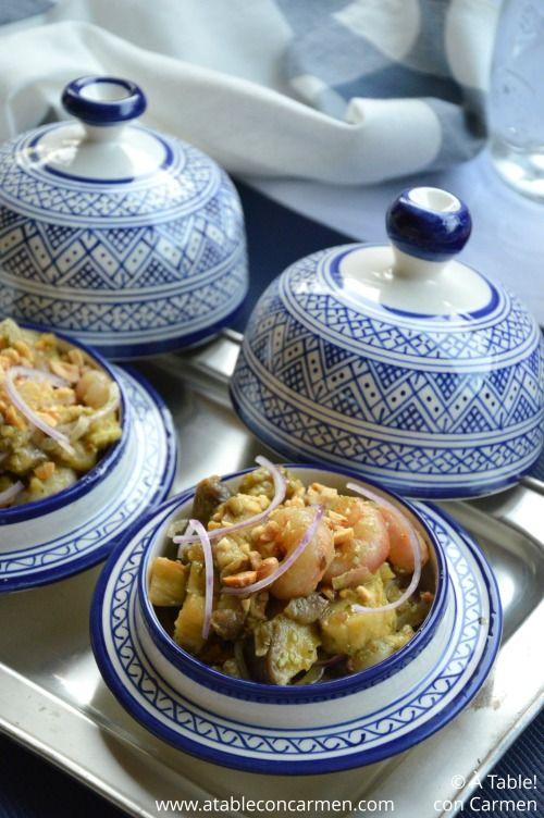 Esta Ensalada Birmana de Berenjena Asada es la adaptación de uno de los platos que probé en mi viaje a Myanmar y nos sorprendió t...