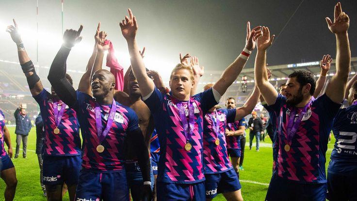 TOP 14 - C'est l'heure de finale le bilan du Stade français. La saison du club parisien restera certainement comme l'une des plus rocambolesques de l'histoire du Top 14. Entre la fusion avortée avec le Racing 92 et le sacre en Challenge Cup, le Stade français a vécu une saison complètement folle.