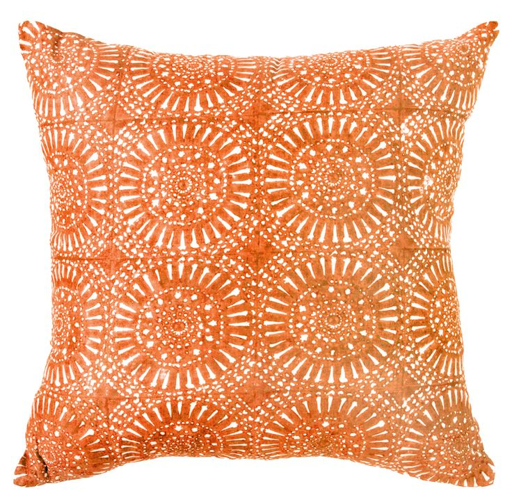 Sphere Orange cushion