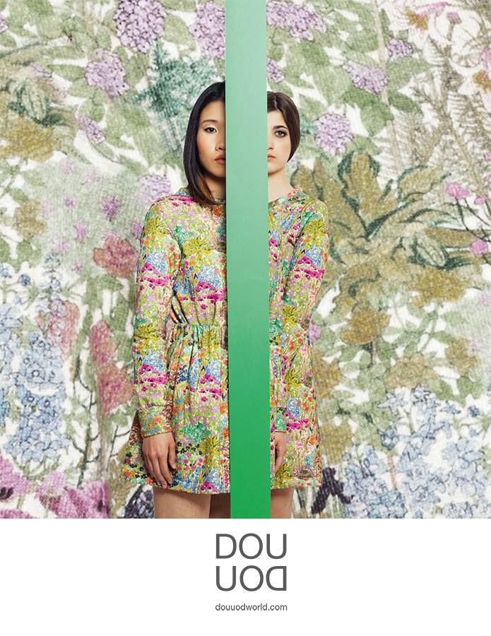 DOUUOD #campaign A/W 13-14 on MarieClaire
