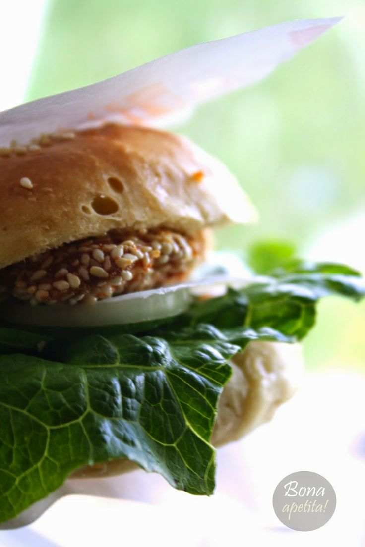 Bona Apetita! blog kulinarny, wnętrza, żyj ze smakiem!: Domowe burgery z kurczakiem -  czyli fast food w z...