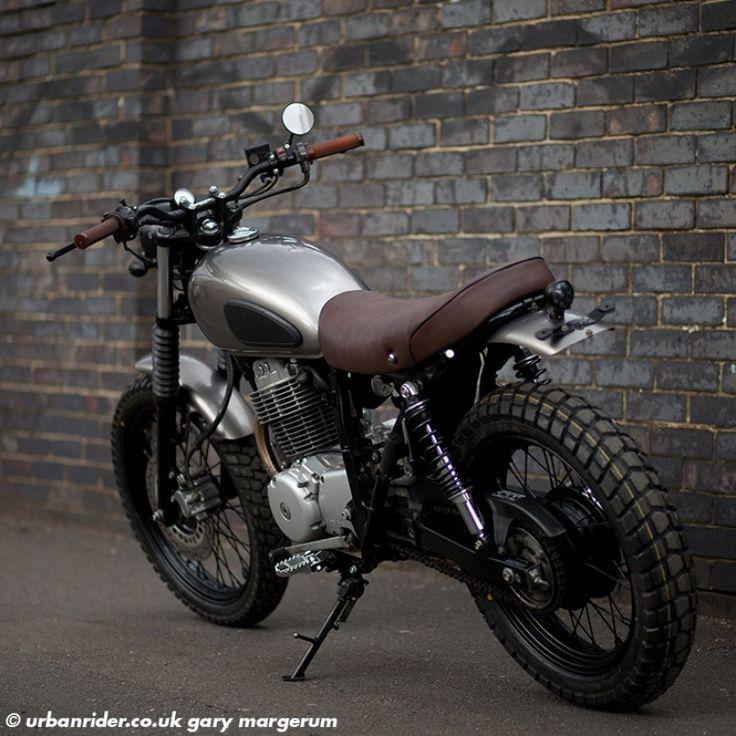 HONDA 400 STREET SCRAMBLER - Urban Rider London