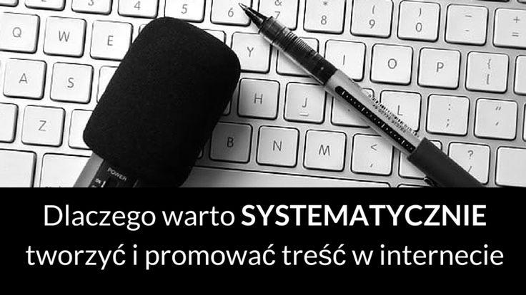 Systematyczne tworzenie i promocja treści w internecie jest jednym ze sposobów na dotarcie ze swoją ofertą do właściwych osób. Oto dlaczego tak jest i jak się za to zabrać: http://blog.swiatlyebiznes.pl/dlaczego-warto-systematycznie-tworzyc-i-promowac-tresc-w-internecie/