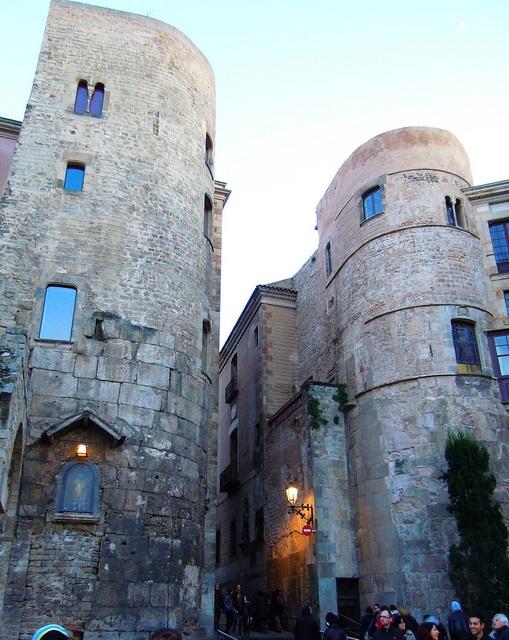 Torres romanas Barcino