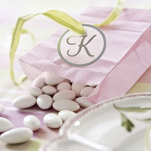 Wedding souvenirs - bag with sweets/mints