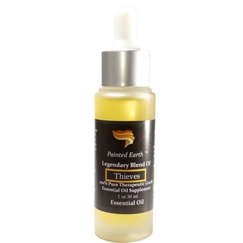 Thief is one of our favorite oils. We use Thief Oil for flu, colds, sinusitis, bronchitis, pneumonia, sore throat, strep, toothache, cuts, poison ivy, and as an immune stimulant. We use it to eliminate odors, disinfect around the house, and so much more.
