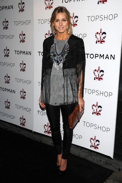 Olivia Palermo Gemstone Statement Necklace - Olivia Palermo Jewelry - StyleBistro