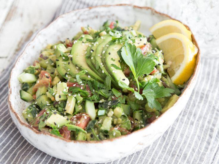 Avocado-Gurken-Tomaten-Salat