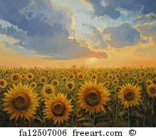 Sun Harmony. - Art Print