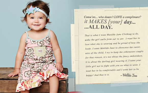 Matilda Jane Clothing — The Way Clothes Should Make You Feel (Review and Giveaway) on http://www.5minutesformom.com