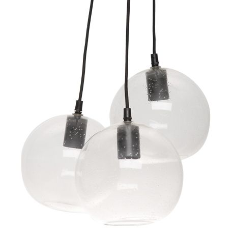 Abyss Ceiling Pendant  Clear