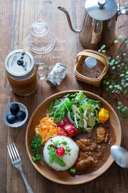 バターチキンカレーワンプレート。|あ~るママオフィシャルブログ「毎日がお弁当日和♪」Powered by Ameba