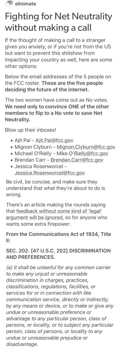 Easy way to help save Net Neutrality! Please act on THIS, if you want to keep things like they are. Otherwise, you will be paying much more. MORE THAN YOU REALIZE.