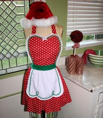 Mrs. Claus Apron yay Christmas baking!!!!