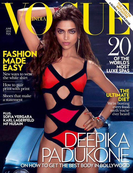 Deepika Padukone – Vogue India June 2012