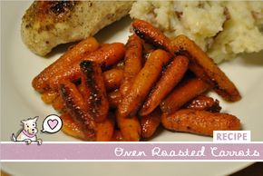 { Oven Roasted Carrot Recipe } One word: delicious! They can be spicy with the 1 tsp of pepper, so only use 1/2 tsp for a less intense flavor. Super easy recipe. I'll definitely make it again! -JW