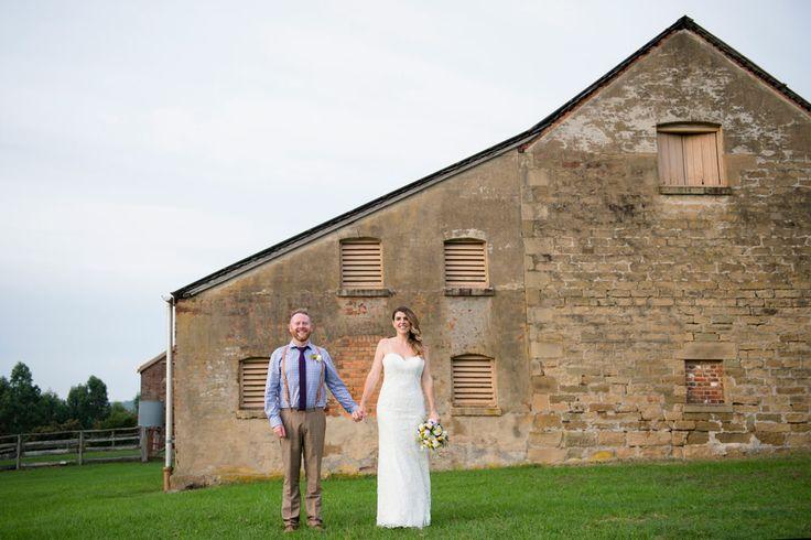 Tocal + Bride + Groom = awesome wedding!