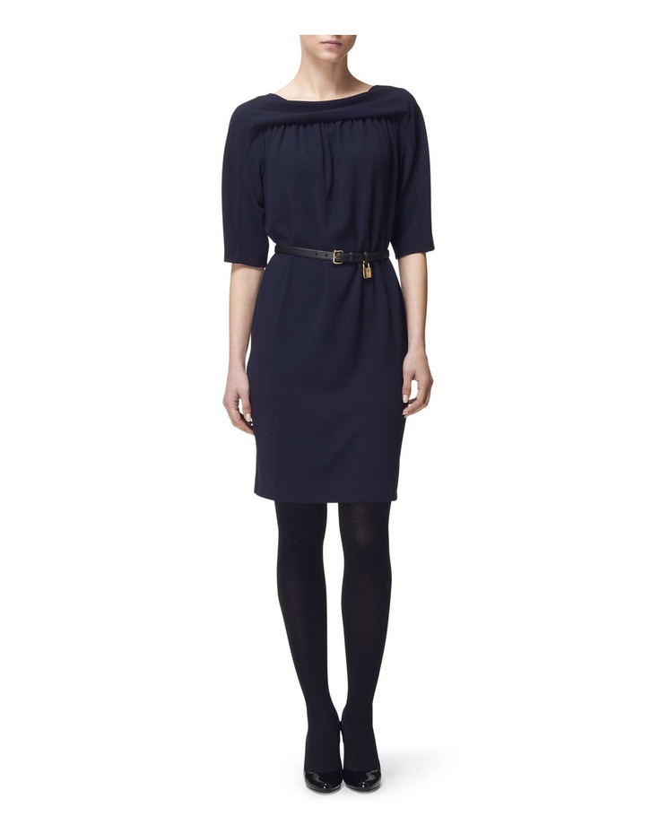 Gathered Yoke Dress - Jaeger $298.50