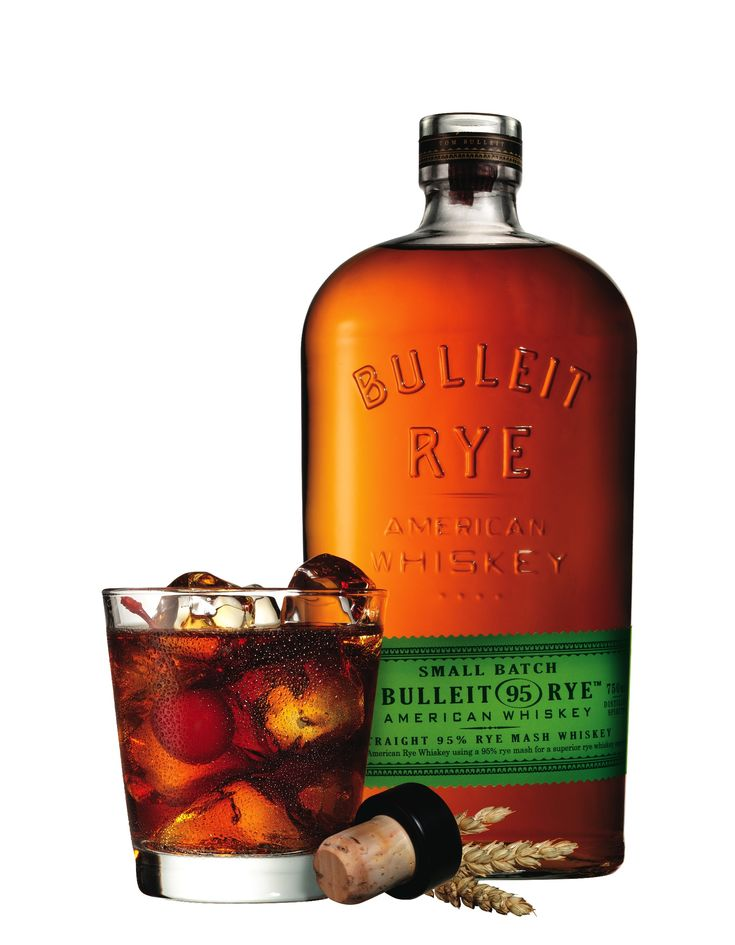 Bulleit 95 Rye Whiskey - yum. It's like everything I love about Scotch AND Bourbon ... in one drink. I actually wish they had merch available; I'd wear it with pride!