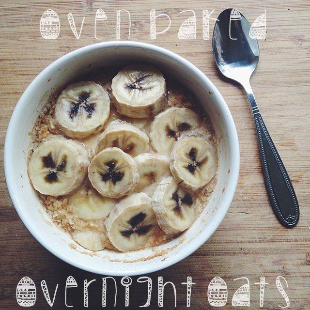Recept: Ovenbaked Overnight Oats - IKBENIRISNIET