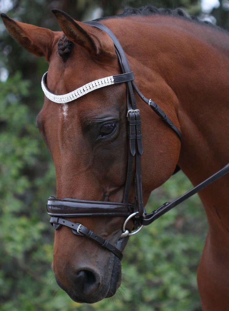 Flexi-Fit Equestrian Gel English Leather Havana Mix & Match Bridle #ffequestrian