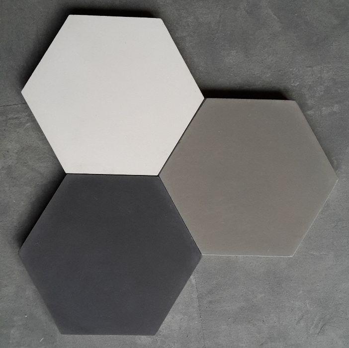Carreaux de ciment Disponible en Noir, gris ciment et blanc/lin 15x18cm - Charme & Parquet