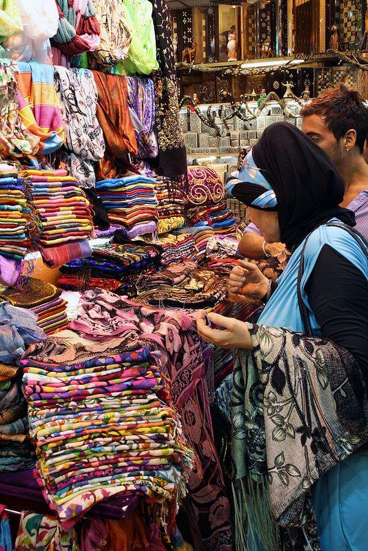 Market shopping . Turkey