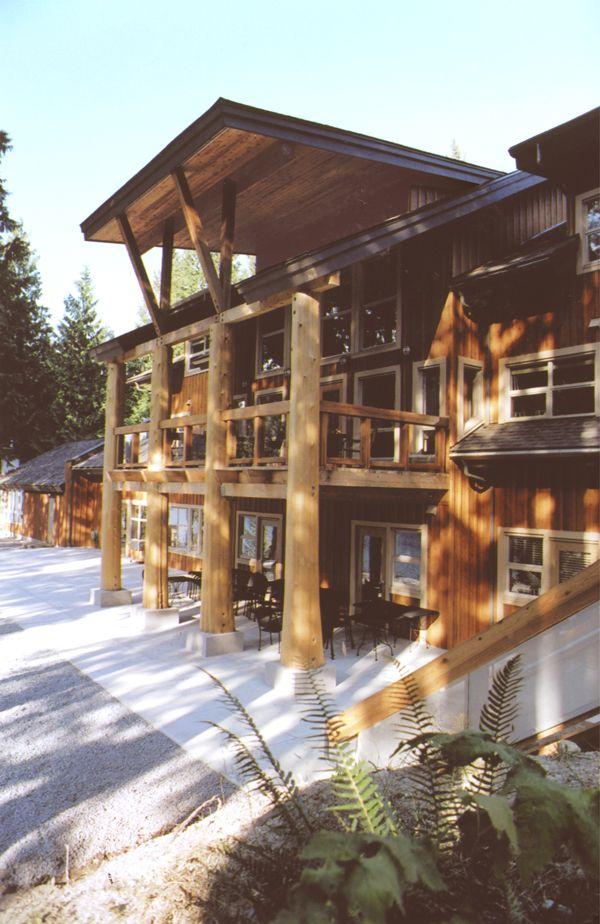 Walter C. Koerner Forestry Center at Loon Lake, BC, Canada