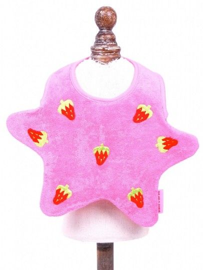 Baby Bibs By Beauty And The Bib  http://www.babskibaby.com/prod/134/beauty-and-the-bib-star-strawberry
