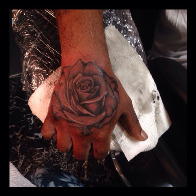 Rose done by me (Chainsaw)