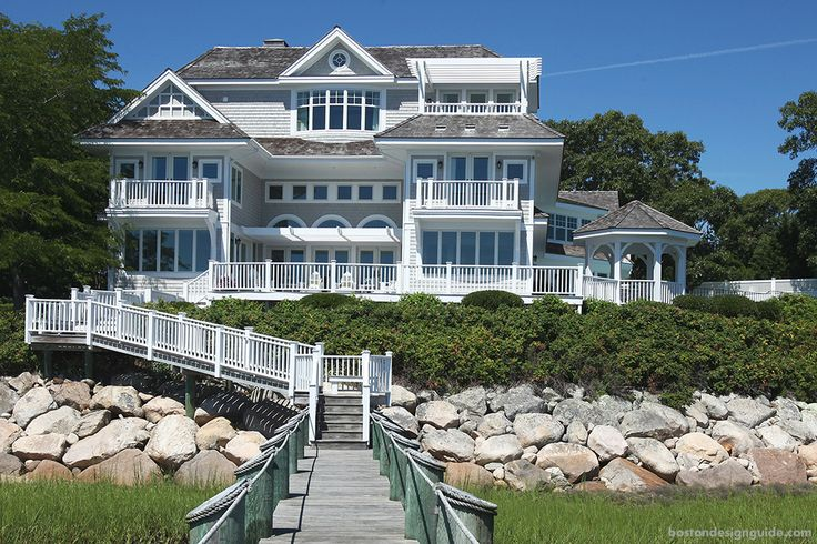 82 best shingle style homes images on pinterest beach for Nantucket shingle style