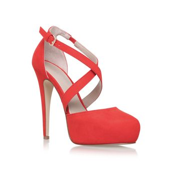 Kassie Orange High Heel Court Shoes from Carvela Kurt Geiger