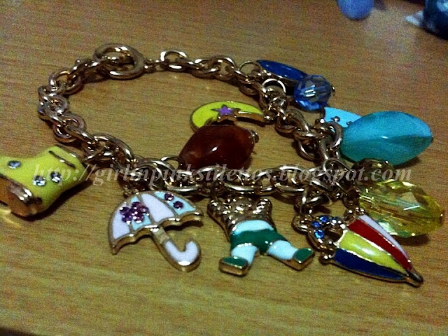 Charm Bracelet,Clay Pens and a Giveaway!